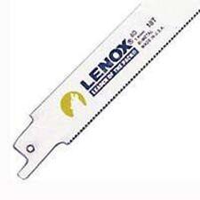 "NEW LENOX PACK (50) LONG 8"" BI-METAL 18 TPI RECIROCATING SAW BLADES 6405385"