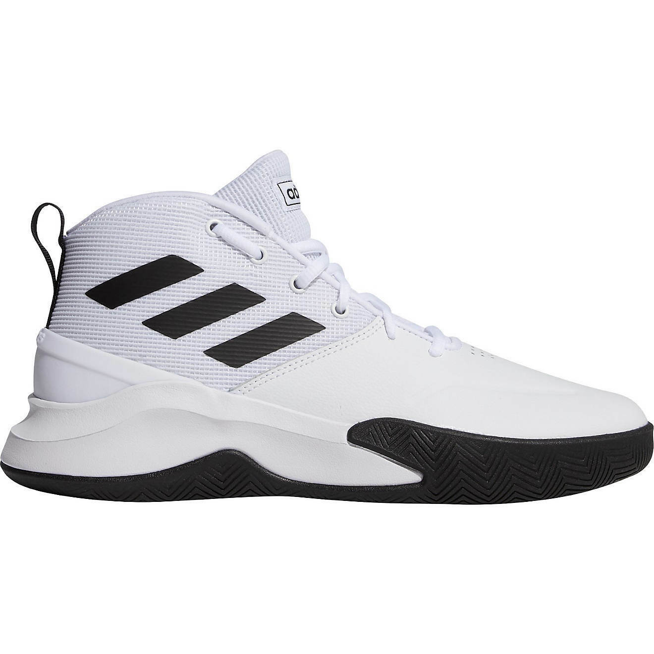 Mens Adidas Own The Game Basketball Shoes Size 13 White Black EE9631 OWNTHEGAME