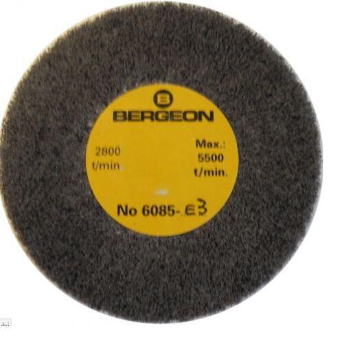 Bergeon 6085-E3 très fine abrasive satin finition métallique roue montres-TM583