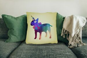 English-Bull-Terrier-Dog-Cushion-Cover-Big-45x45cm-18-034-x-18-034-Gift-Design-Choice
