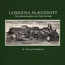 LOREENA MCKENNITT - TROUBADOURS ON THE RHINE  CD 9 TRACKS NEU