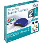 IRIS IRIScan Mouse 2 Win - Hat Zwei Austauschbare Cover Schwarz Und Blau. 458124