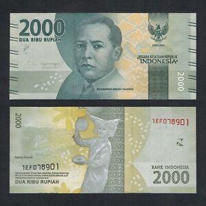 2019 P NEW SIGN UNC INDONESIA 2,000 2000 RUPIAH 2016