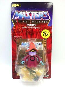 Figurine Maître de l'univers MOTU POWERS GRAYSKULL SUPER7 Orko Neuf