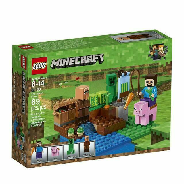 Lego 21138 Minecraft The Melon Farm 69 Pcs For Sale Online Ebay