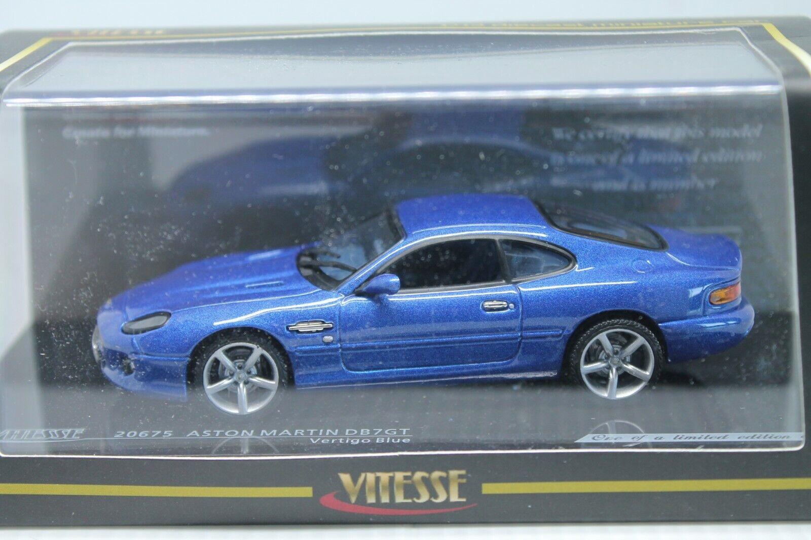 VITESSE  ASTON MARTIN DB  GT   greenIGO blueE   1 43  OVP  LIMITED
