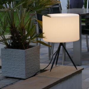 Gartenlampe-Gartenleuchte-Gartenbeleuchtung-Aussenleuchte-Tripod-Lampe-55-x-40-cm