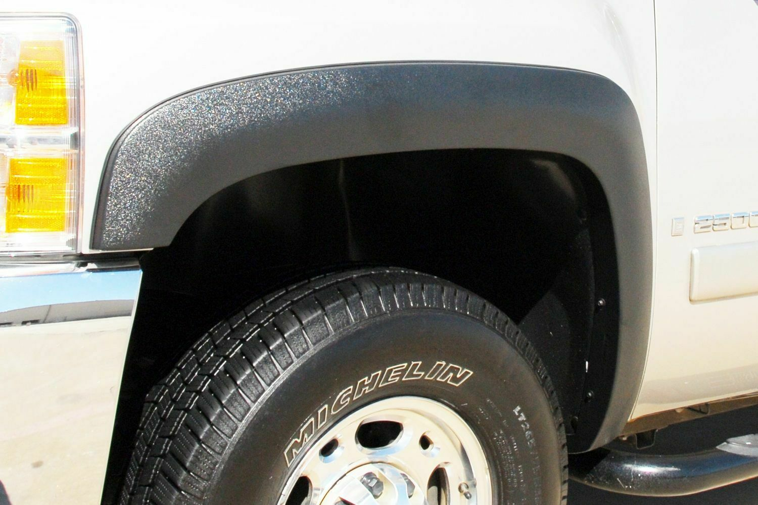 4 Piece Lund SX106T Elite Series Black Sport Style Textured Front and Rear Fender Flare