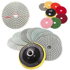 Diamond-Polishing-Pads-4-inch-Wet-Dry-10-Piece-Set-Granite-Stone-Concrete-Marble