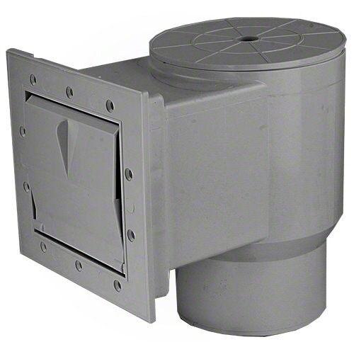 """Waterway™ Flo-Pro II Standard Mouth In-Wall Skimmer 1-1//2/"""" Gray Long Throat"""