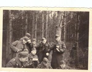 Foto 2.WK deutsche Soldaten Luftwaffe Frankreich ca. 1940 Wehrmacht WW2 C31