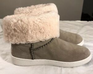 7c79f4e07f8 Details about UGG MIKA CLASSIC ANKLE BOOTS SNEAKERS ANTELOPE SZ 5 1094811  WOMAN NEW STYLE