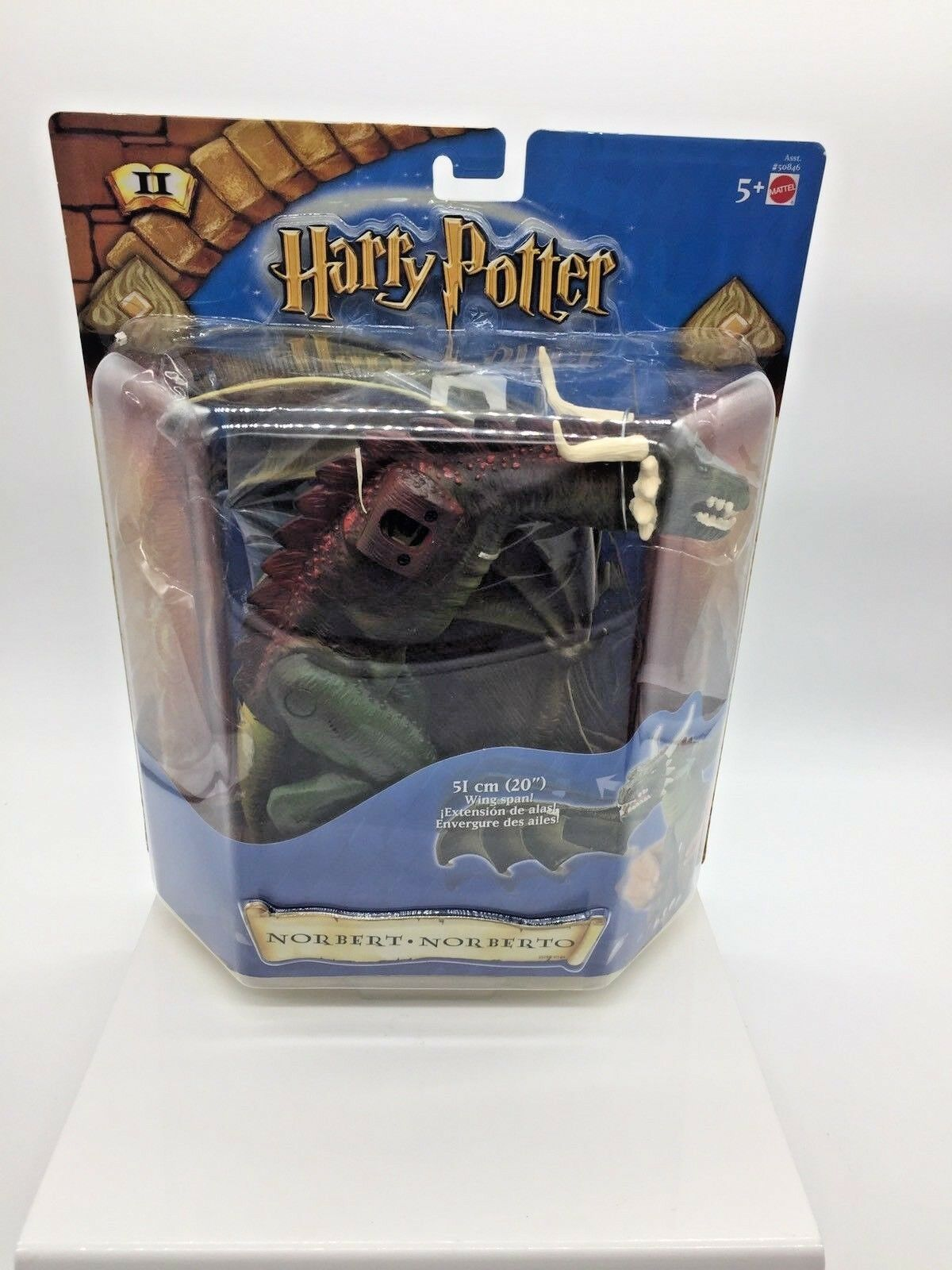 Harry Potter Norbert Dragon Deluxe Creature 8