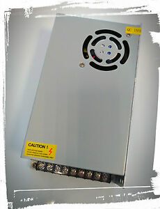 Alimentatore switching 12V 20A 240 watt CON TRIMMER IN AC 110-220V OUT DC 12V