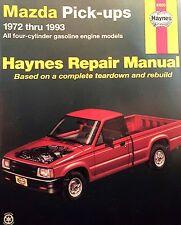 Mazda Pick-ups Haynes Manual 61030 Service Repair Book Fits 1972-1993