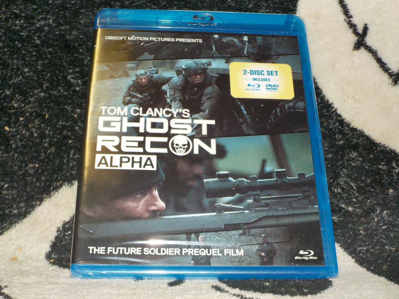 Tom Clancys Ghost Recon Alpha New Sealed Bluray Dvd Future Soldier