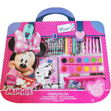 Kids Minnie Mouse Creative Activity Set Colouring Stickers Paint Stampers Pencil