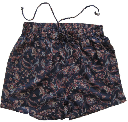 NUOVA linea donna blu Spencer Marks /& /& Beige /& arancione pantaloni corti taglia 10