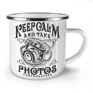Calm Photographer Fashion NEW Enamel Tea Mug 10 oz | Wellcoda