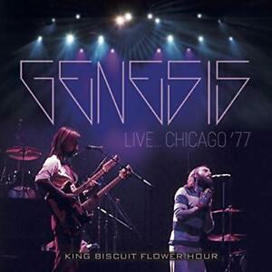 GENESIS-Live-in-Chicago-1977-importazione-2-CD-CON-IL-GIAPPONE-OBI