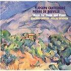 Joseph Canteloube, Pierre de Bréville: Music for Violin and Piano (2004)