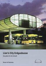 Prospekt MAN Bus Lion's City Erdgasbus 7 05 2005 Busprospekt Omnibus brochure