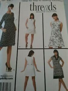 Modern-dresses-Simplicity-pattern