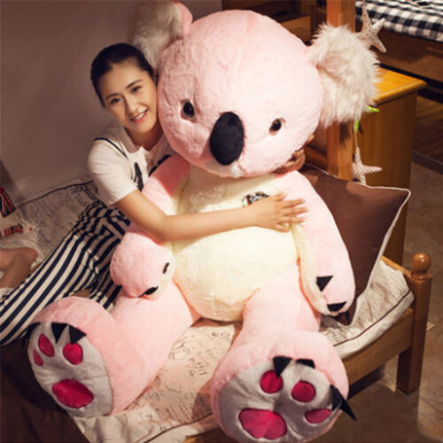 55'' Giant Large Big Animal Koala Plush Soft Toys Stuffed Koalas Doll 140cm GIFT