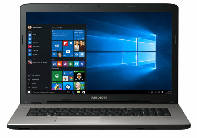 "MEDION AKOYA E7424 MD 60650 Notebook 43,9cm/17,3"" Intel i3 7. Gen 128GB SSD 4GB"