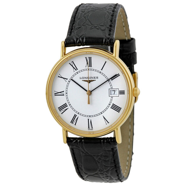 Longines 18kt Gold-tone Stainless Steel Mens Watch L4.720.2.11.2