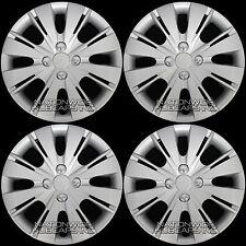 "4 New 06-16 Toyota Yaris 15"" Hub Caps Wheel Rim Covers Snap On 4 Bolt Lug Hubs"