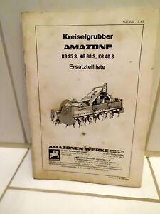 Amazone-Kreiselgrubber-KG-25-S-KG-30-S-KG-40-S-Ersatzteilliste