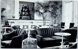 Carmel-CA-Postcard-PINE-INN-Hotel-034-THE-RED-PARLOR-034-Cocktail-Lounge-Bar-c1950s