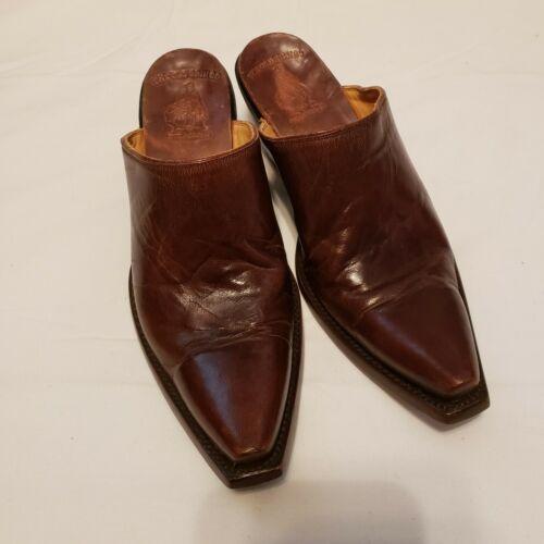 Mule Cowboy Boots  Mule Old Gringo Leather Slip on
