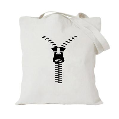 Imparato Zip Tote Bag/borsa Per Una Vita Shopping/vettore Riutilizzabile Divertente-