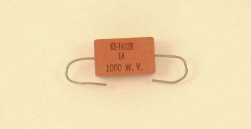 Lot of 2 1900pf 1000v 1Kv Silver Mica Axial Lead Capacitor