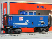 Lionel Conrail Illuminated Blue Caboose O Gauge Train Lighted 6-83179