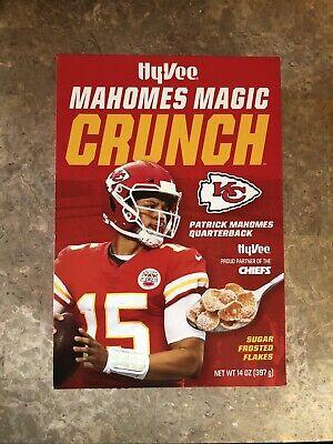 Hy-Vee Mahomes Magic Crunch Superbowl 54 Patrick Mahomes Cereal