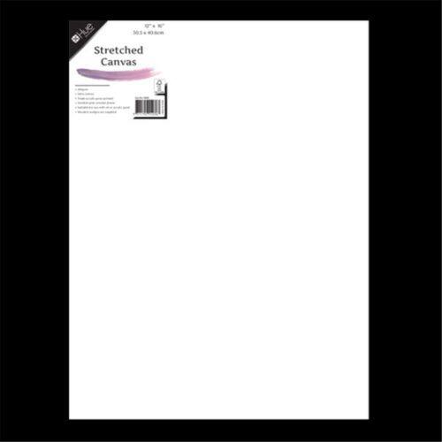 "50x76cm 20x30"" Inch Blank Artist Stretched Canvas Panel Art White Oil Acrylic"