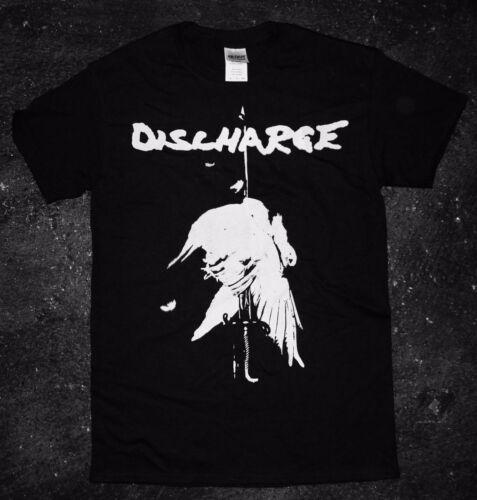 punk oi varukeers crass motorhead kbd /'Never Again/' T Discharge Shirt