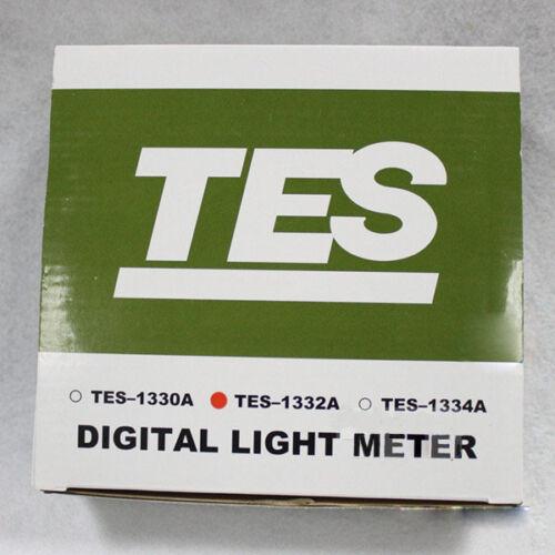 Lux Meter Digital Light Illuminometer 0.01~200000 TES1332A Illuminance #G182 XH