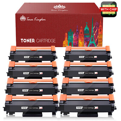 1PK TN760 Toner for Brother HL-L2370DW L2350DW DCP-L2550D MFC-L2750DW L2710DW