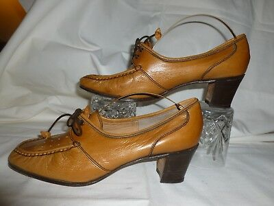 Barker Ladies Womens Luxury Shoes Ruth Lace Smart Heel Casual Shoes RRP£85