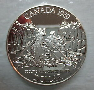 1989-CANADA-MACKENZIE-RIVER-PROOF-SILVER-DOLLAR-COIN
