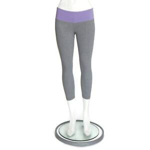 df821672f0b28 Image is loading LULULEMON-Lavender-Purple-Gray-Crop-Leggings-Capri-size-