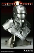 Sideshow Collectibles Iron Man MARK II Life Size bust #6 out of 100 pieces.