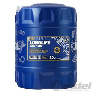 20L-MANNOL-MOTOROL-LONGLIFE-SAE-5W-30-504-507-API-SN-ACEA-C3-16-MB-2