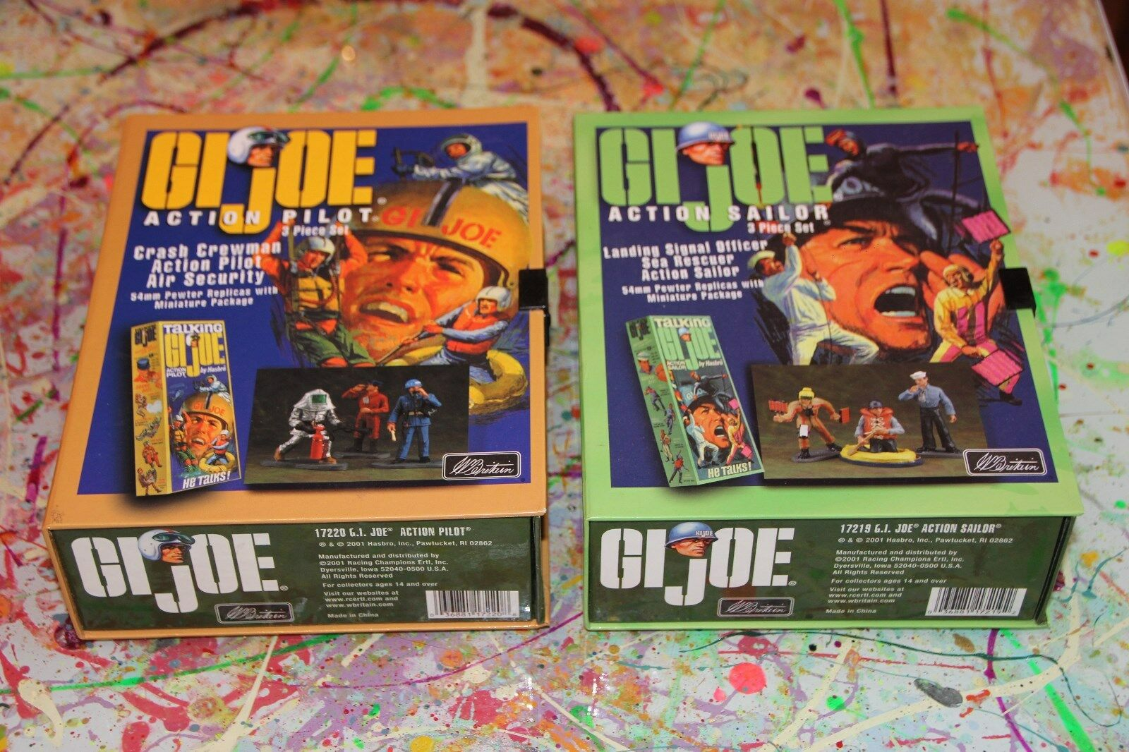 Vintage Action Man, GI Joe Britain's Sets x 2