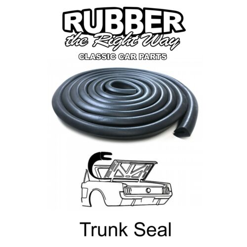 1965 1966 1967 1968 1969 1970 Ford Mustang Trunk Seal