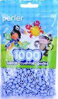 Bulk Buy: 5 X 1,000 Perler Blueberry Cream Color Iron On Fuse Beads 80-19093
